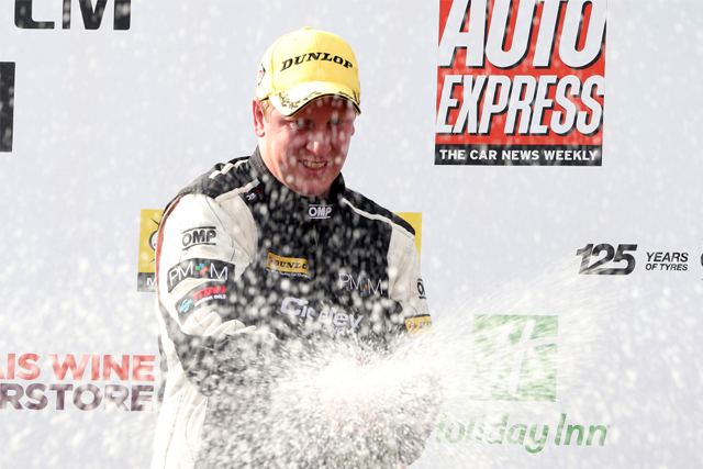 Adam Morgan Oulton podium BTCC 2013
