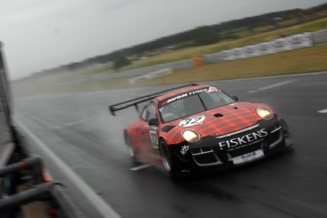 Jelley tamed difficult conditions to take pole for the second race (Credit: Chris Gurton Photography)