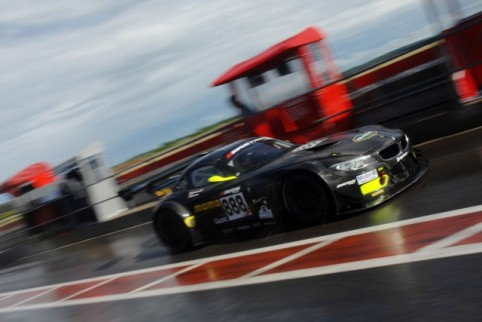 Steve Tandy and Dan Brown both qualified the #888 second quickest (Credit: Chris Gurton Photography