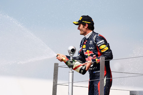 Webber took the win last season - can he secure his third Silverstone victory this weekend? - Credit: Clive Mason/Getty Images