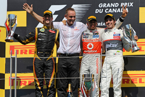 Lewis Hamilton won this race last year, Romain Grosjean, Martin Whitmarsh and Sergio Perez could all do with a similar result in 2013 as well - Credit: Pirelli