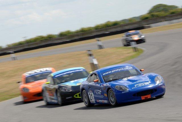 Ginetta Snett race 1 2013 Pittard