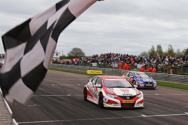 Hondas Thruxton 2013 BTCC