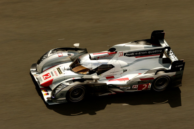 Audi won a subdued race (Credit: Audi Motorsport)