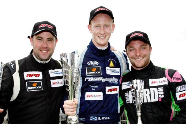 Ross Wylie Snetterton podium 2013