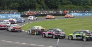 Turkington leading at Croft 2009