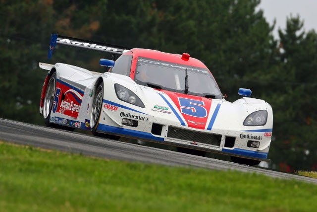 Barbosa led the final half hour of the race (Credit: Grand-Am)
