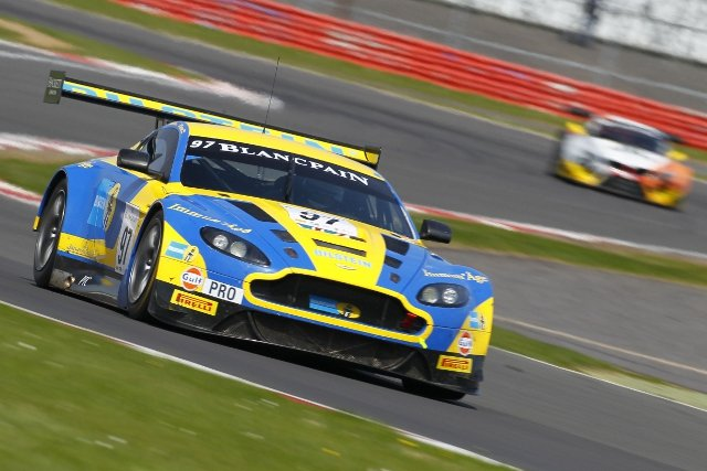 Silverstone delivered a first Blancpain Series win for Aston Martin (Credit: V-IMAGES.com/Fabre)