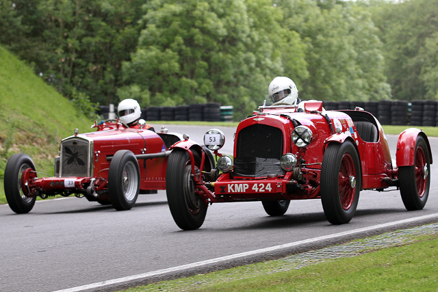Fascinating machinery will take to Cadwell Park this June at the annual Vintage Festival