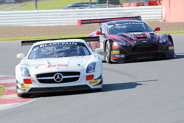 Fortec's Blancpain trio fought to 16th overall on their series debut (Credit: eMOTIONiMAGES/Jon Hobley)