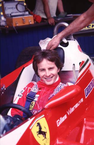Gilles Villenueve - Credit: Ferrari