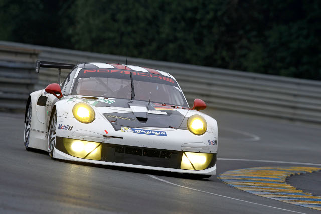 2013 24 Hours of Le Mans (Credit: Porsche AG)