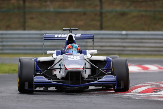 Korjus set the opening day pace in Budapest (Credit: Alastair Staley/GP3 Series Media Service)