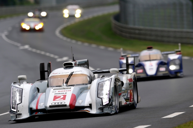 2013 24 Hours of Le Mans (Credit: Audi Motorsport)