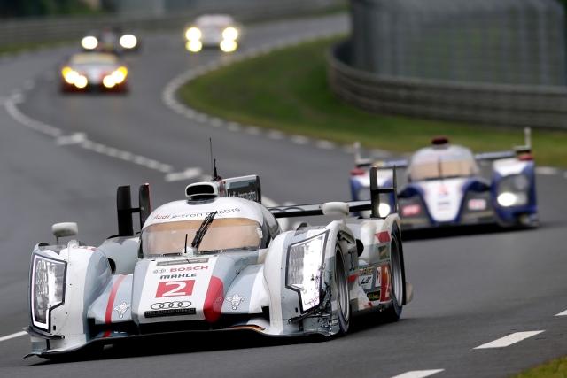 2013 24 Hours of Le Mans (Credit: Audi Motorsport)