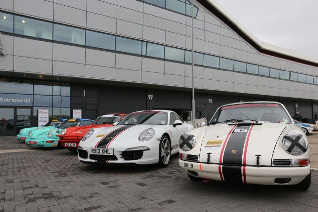 Porsches at Silverstone Classic (Credit: Jakob Ebrey Photography)