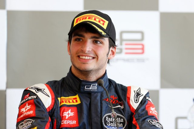 Carlos Sainz Jr and Antonio Felix da Costa will share testing duties (Credit: Alastair Staley/GP3 Series Media Service)
