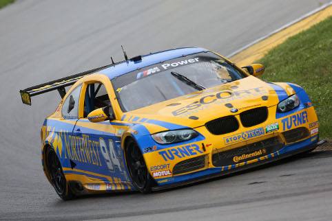 Spun from the lead late on, a penalty gave the win back to Turner Motorsports (Credit: Grand-Am)
