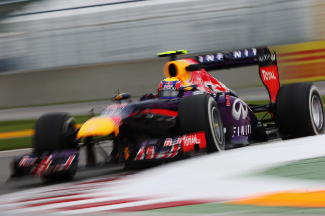 Webber set the fastest lap of Saturday's pre-qualifying running (Credit: Mark Thompson/Getty Images)