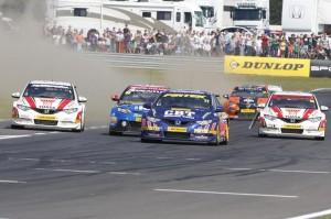 BTCC race two 2012 Snetterton