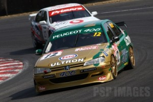 Round 2 of the Touring Car Trophy. #12. Patrick Watts. Peugeot 406. Class A.