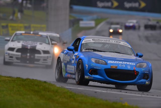 The Watkins Glen weather played it's part in the CTSCC event (Credit: CJ Wilson Racing)