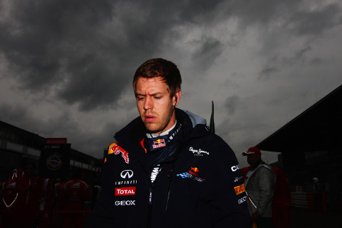 Vettel has never had much luck at his home grand prix - Credit: Mark Thompson/Getty Images