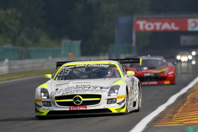 Maximilian Gotz put the HTP Merc on top (Credit: V-IMAGES.com/Fabre)