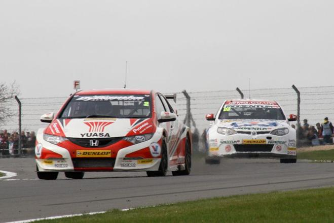 Matt Neal Donington 2013