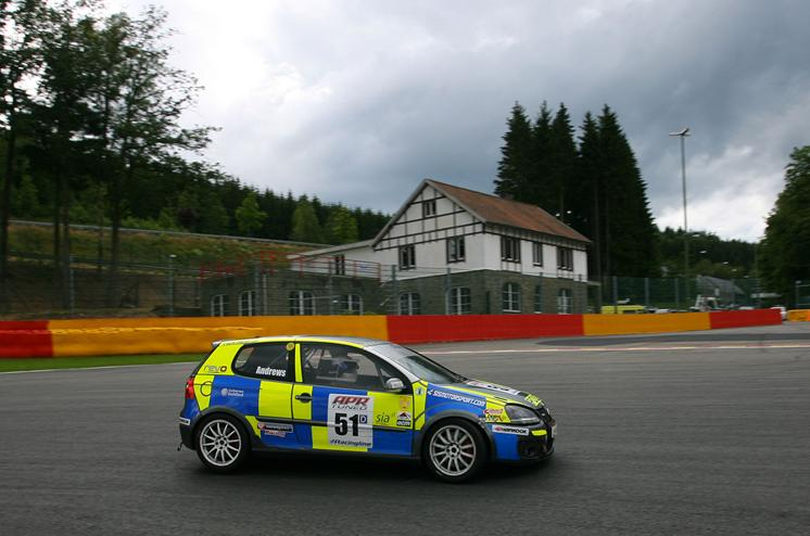 Simon Andrews Golf GTI 2012 Spa