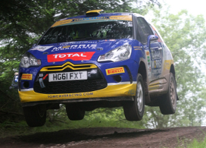 Cave Fought For The Rally Win - Credit: Jakob Ebrey Photography