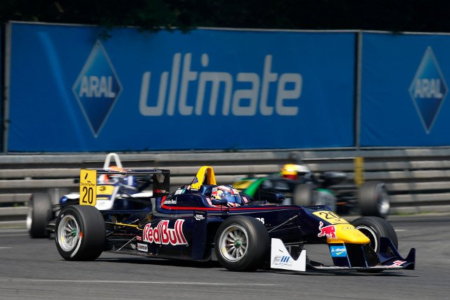 Blomqvist was promoted to victory after post-race penalties (Credit: FIA F3 European Championship)