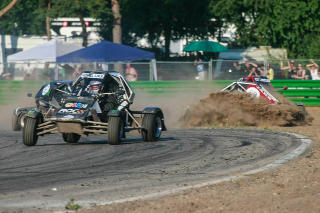 British Rallycross round 5, Maasmechelen, Belgium