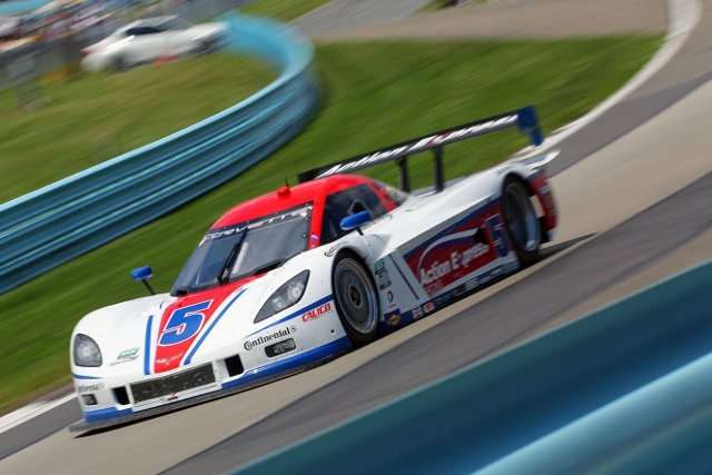 Barbosa and Fittipaldi took their second consecutive win (Credit: Grand-Am)