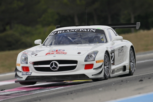 Fortec entered the Blancpain Endurance Series races at Silverstone and Paul Ricard (Credit: V-IMAGES.com/Fabre)