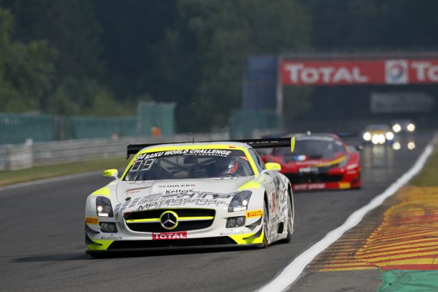 2013 Total 24 Hours of Spa (Credit: V-IMAGES.com/Fabre)