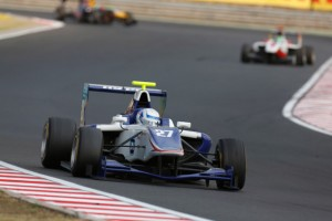 Vainio survived a late safety car period to take victory (Credit: Alastair Staley/GP3 Media Service)