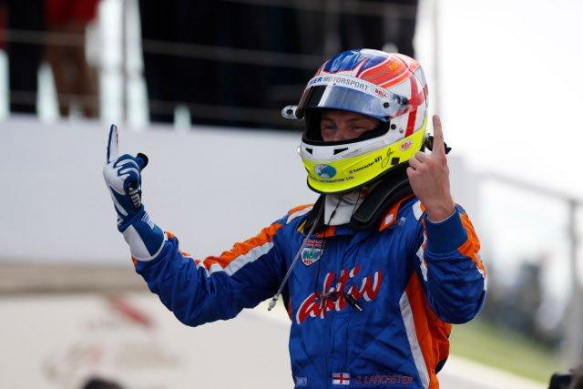 Lancaster's win followed Sam Bird's Feature Race win (Credit: Alastair Staley/GP2 Series Media Service)