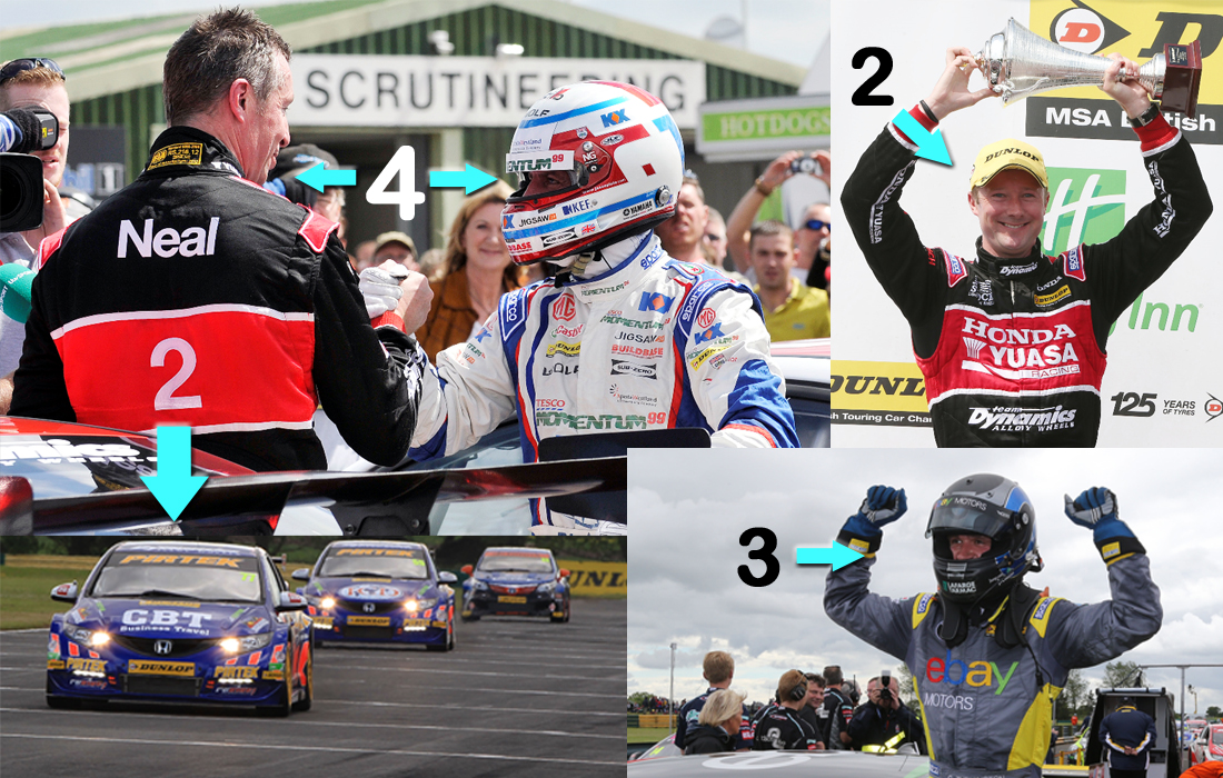 mid season in numbers BTCC winners 2013