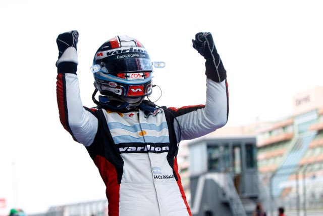 Regalia dominated his way to a first GP3 victory (Credit: Andrew Ferraro/GP2 Series Media Service)