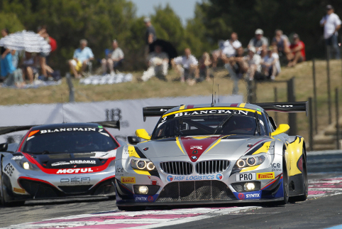 With extra points on offer the Blancpain series regulars will have the championship in mind (Credit: V-IMAGES.com/Fabre)