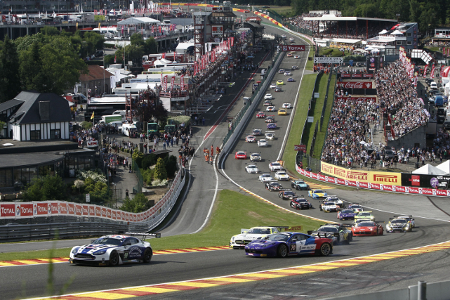2013 Total 24 Hours of Spa (Credit: V-IMAGES.com/Fabre)