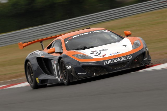 Von Ryan have brought the McLaren to the AVon Tyres British GT Championship (Credit: Chris Gurton Photography)