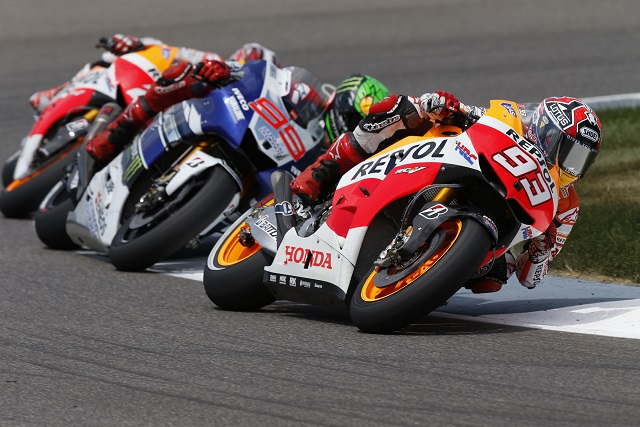 Marc Marquez has extended his MotoGP championship lead - Photo Credit: Repsol Honda