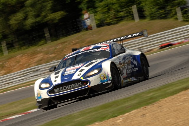 Victory gave the Beechdean duo the championship lead (Credit: Chris Gurton Photography)