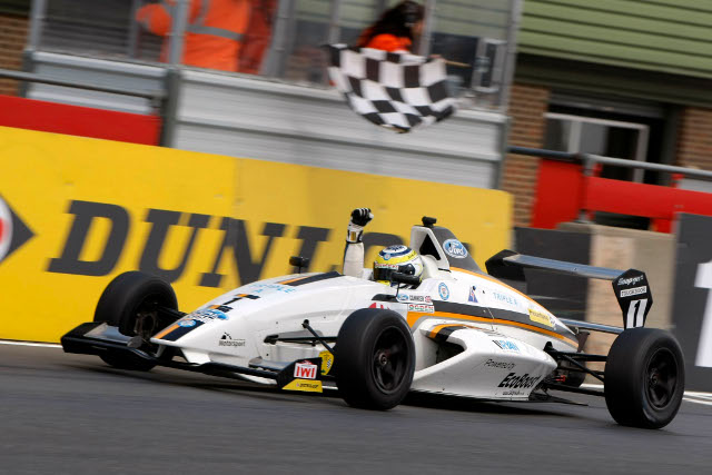 Cammish continued his winning streak into the second half of the season (Credit: Formula Ford)