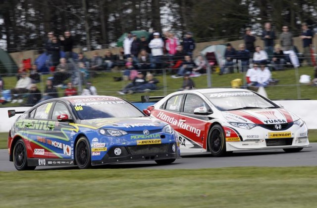 Jason Plato and Matt Neal lead the stars of today having claimed their first wins during the late 90s (Photo: btcc.net)