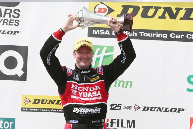 Shedden podium 2013 BTCC