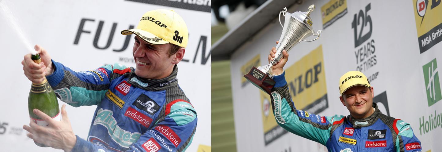 Smith, Jackson podiums 2013 Snetterton