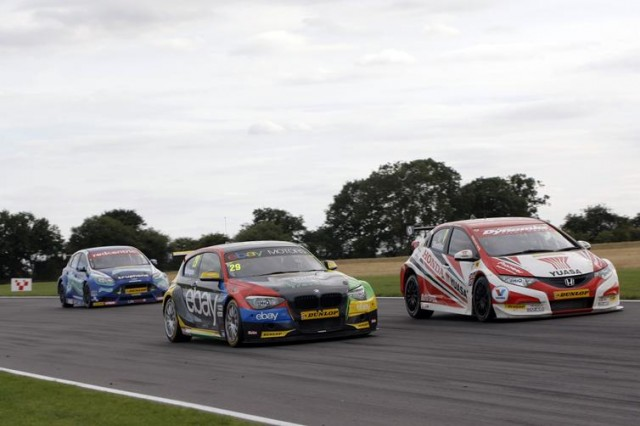 Different cars have handled the tyres in their own manners (Photo: btcc.net)